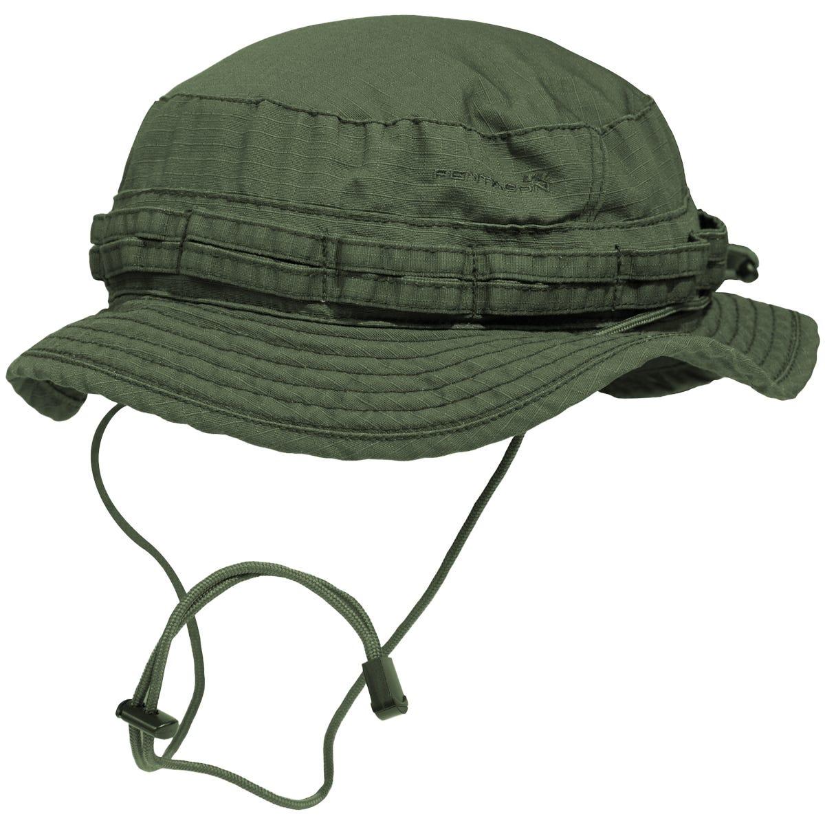 d2f7e3c11ad Pentagon Babylon Boonie Hat Camo Green