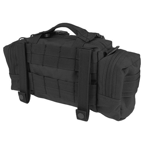 CONDOR 127-002 Modular Style Deployment Bag Black KPcp6idR8