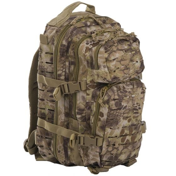 Mil-Tec US Assault Pack Small Laser Cut Mandra Tan