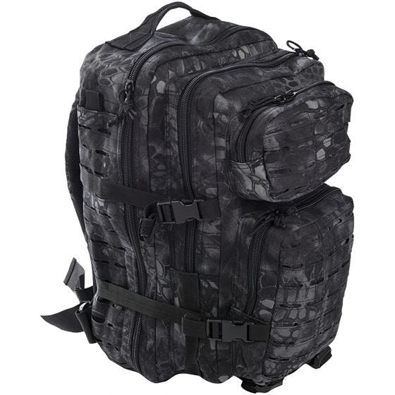 Mil-Tec US Assault Pack Large Laser Cut Mandra Night