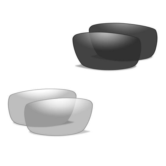 Wiley X XL-1 Advanced - Smoke Grey + Clear Lens / Matte Black Frame