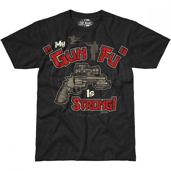 7.62 Design Gun-Fu T-Shirt Black