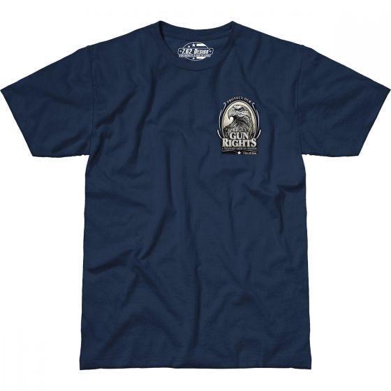 7.62 Design Gun Rights T-Shirt Navy Blue