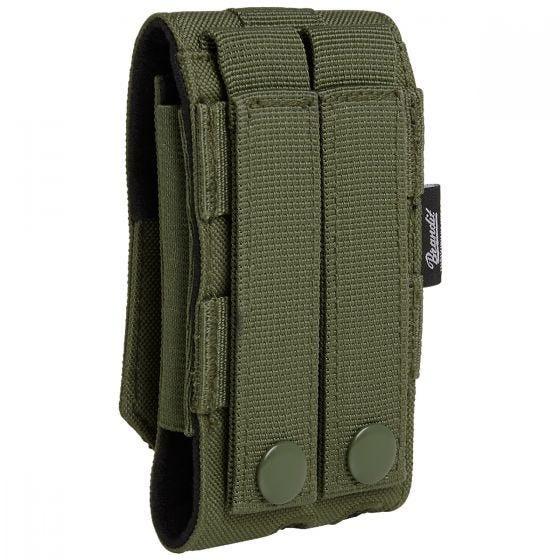 Brandit MOLLE Phone Pouch Medium Olive