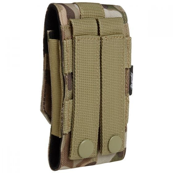 Brandit MOLLE Phone Pouch Medium Tactical Camo