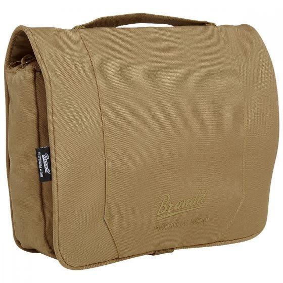Brandit Toiletry Bag Large Camel