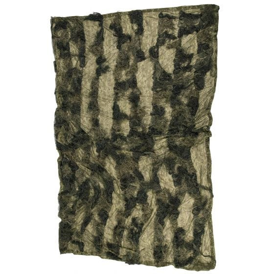 Mil-Tec Ghillie Cover Anti-Fire Basic 300x200cm Woodland