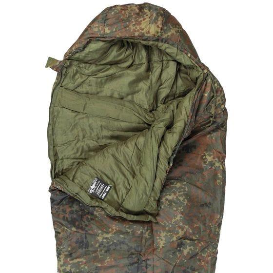 Mil-Tec Mummy Sleeping Bag 400g Flecktarn
