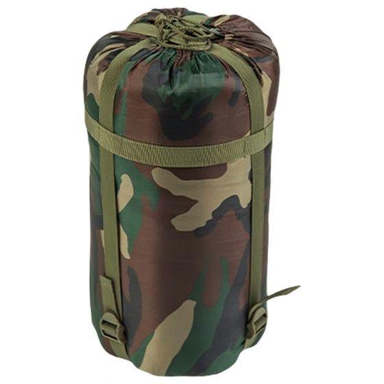 Mil-Tec Mummy Sleeping Bag 400g Woodland