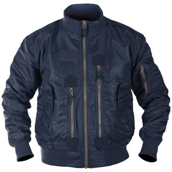 Mil-Tec US Tactical Flight Jacket Dark Blue