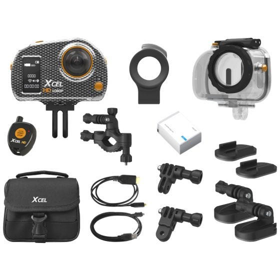 Xcel HD Sport Edition Camera Carbon