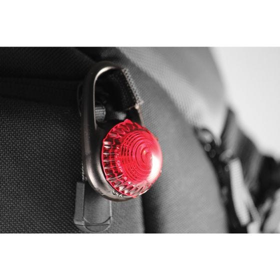 Adventure Lights Guardian Tag-It Clip-On Light Red