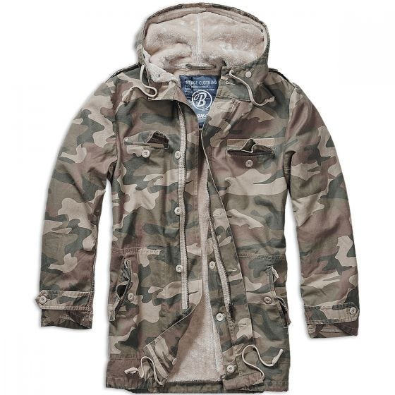 Brandit BW Parka Light Woodland