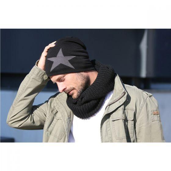 Brandit Beanie Star Cap Navy