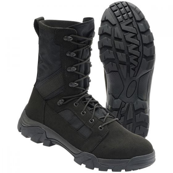 Brandit Defense Boots Black