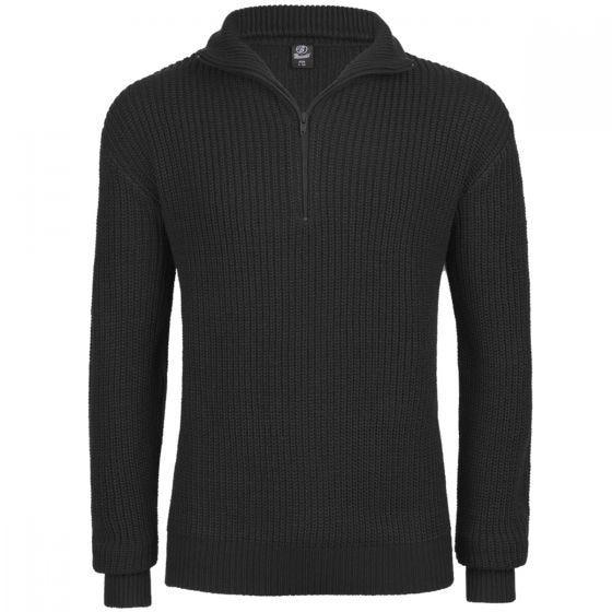 Brandit Marine Pullover Troyer Black