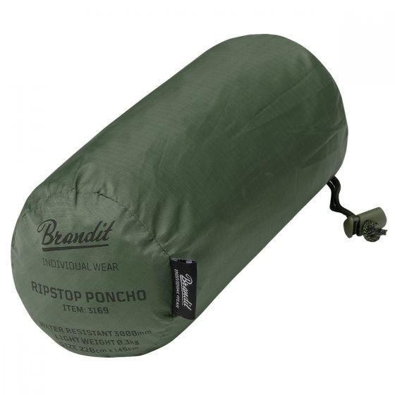 Brandit Ripstop Poncho Olive