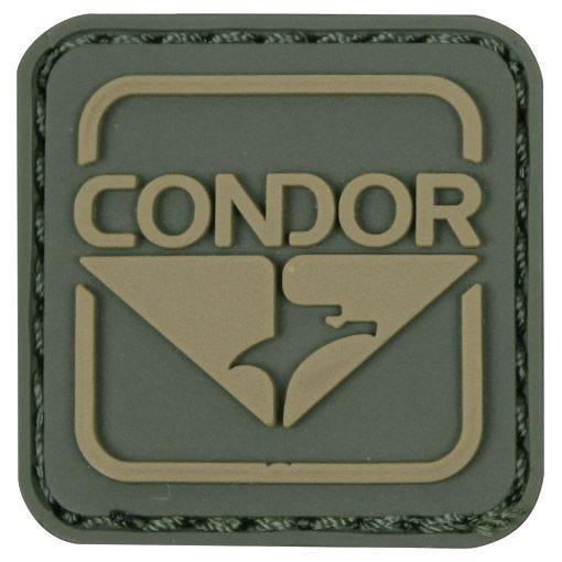 Condor Emblem PVC Patch Green/Brown