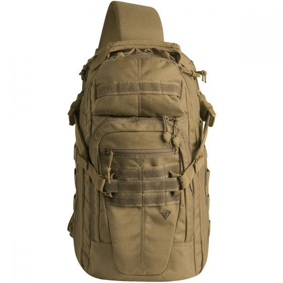 First Tactical Crosshatch Sling Pack Coyote