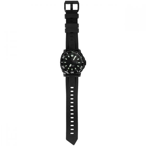 First Tactical Fathom Stainless Steel Dive Watch Black