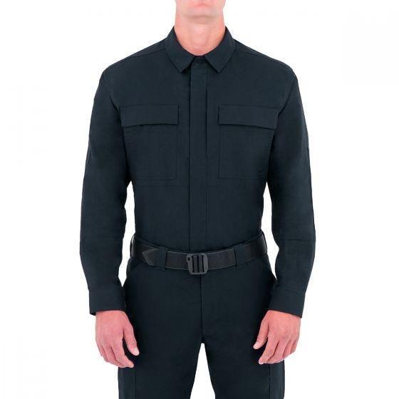 First Tactical Men's Specialist Long Sleeve BDU Shirt Midnight Navy