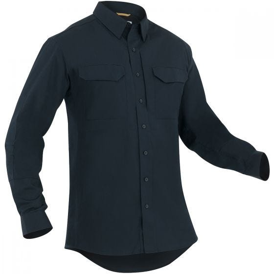 First Tactical Men's Specialist Long Sleeve Tactical Shirt Midnight Navy