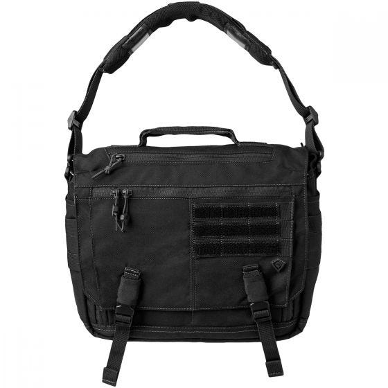 First Tactical Summit Side Satchel Black