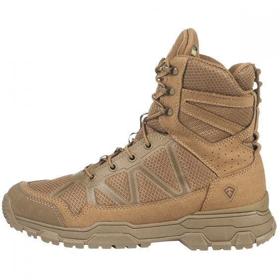 """First Tactical Men's 7"""" Operator Boots Coyote"""
