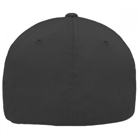 Flexfit 5 Panel Cap Black