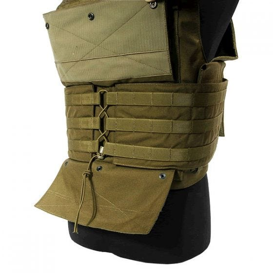 Flyye Spartan Vest Coyote Brown