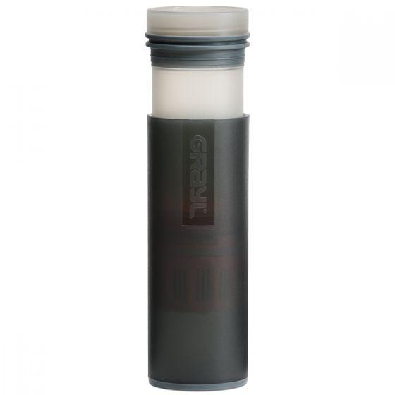 GRAYL Ultralight Water Purifier Bottle + Filter Black