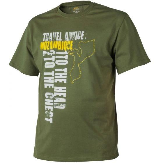Helikon Travel Advice: Mozambique T-shirt US Green