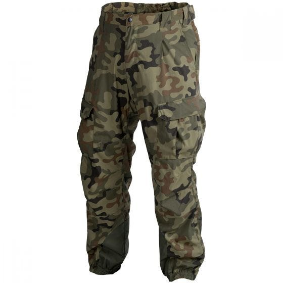 Helikon Soft Shell Trousers Level 5 Ver. II Polish Woodland