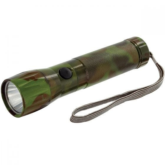 Highlander 1W LED Aluminium Torch Camo