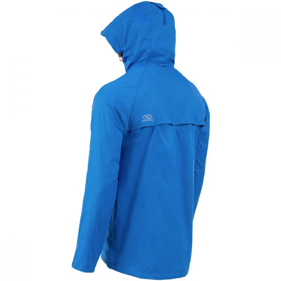Highlander Stow & Go Packaway Jacket Blue
