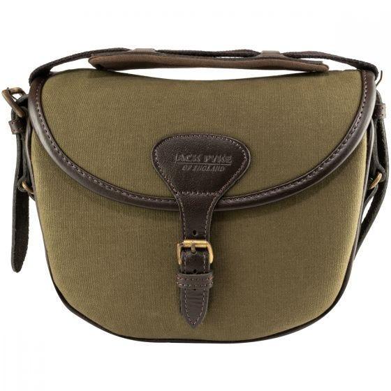 Jack Pyke Canvas Cartridge Bag Green