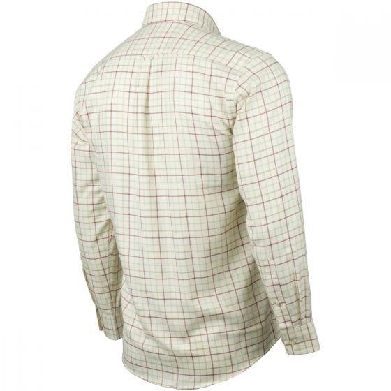 Jack Pyke Countryman Check Shirt Burgundy
