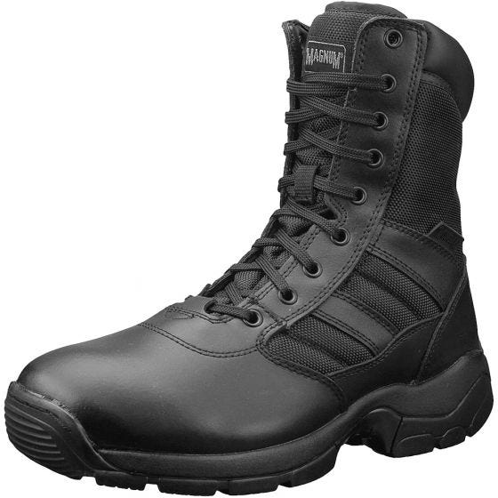 Magnum Panther 8.0 Side-Zip Boots Black