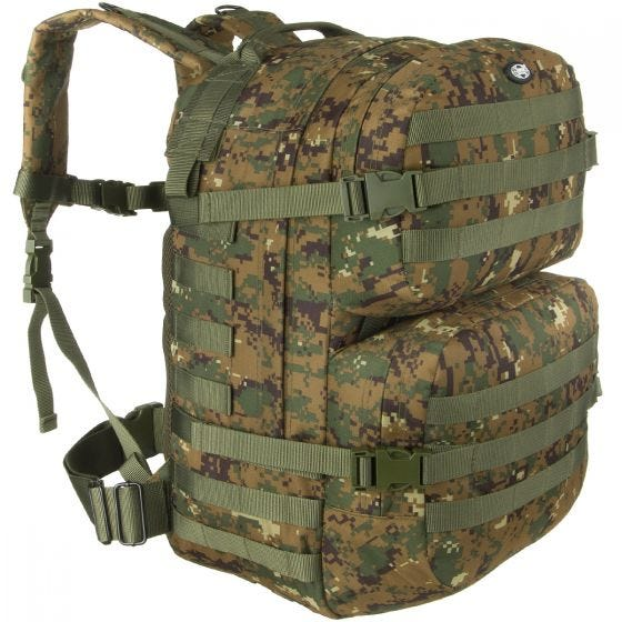 MFH Backpack Assault II Digital Woodland