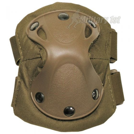 MFH Elbow Pads Defence Coyote
