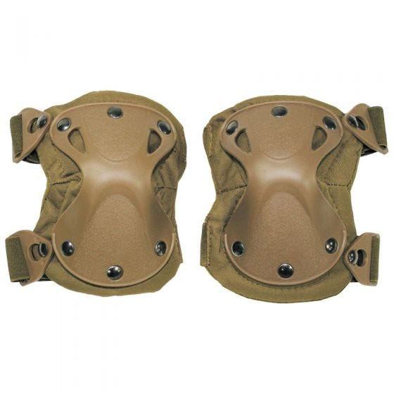 MFH Knee Pads Defence Coyote