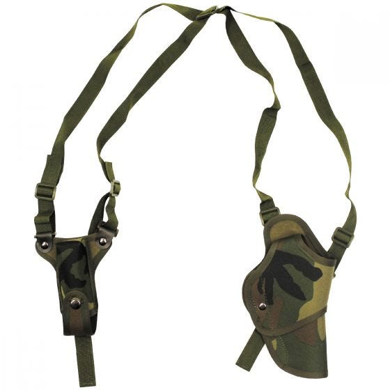MFH Pistol Shoulder Holster Right Woodland