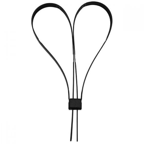 MFH Plastic Handcuffs Black Pack of 10