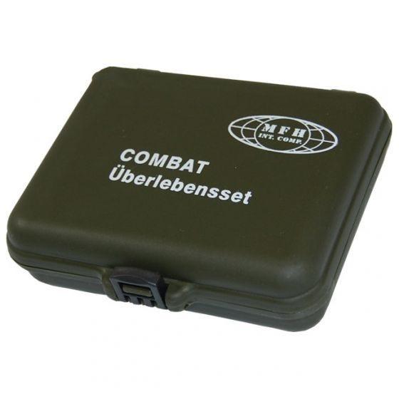 MFH Combat Survival Kit (Plastic Case)