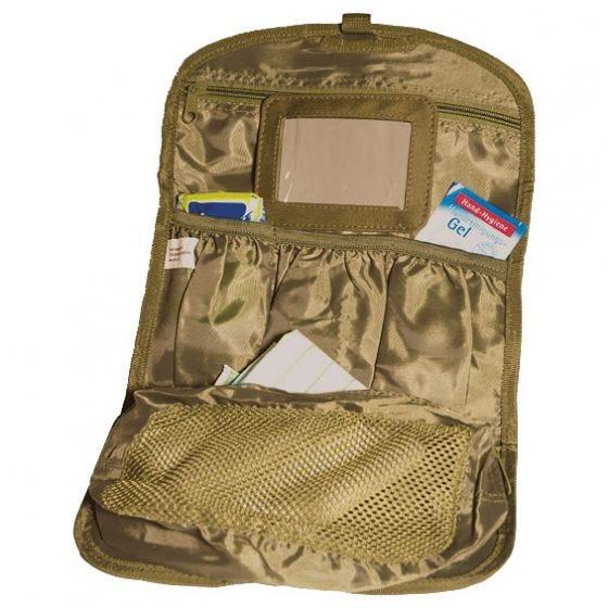 Mil-Tec British Army Toiletry Bag Coyote