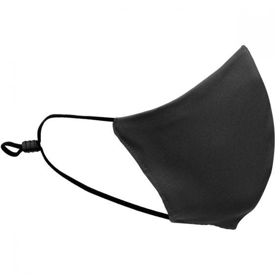 Mil-Tec Mouth/Nose Cover V-Shape Elastic Black