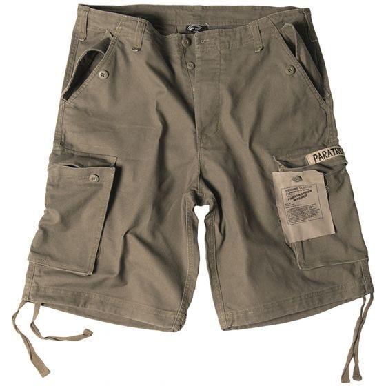 Paratrooper Cargo Shorts Prewashed Olive