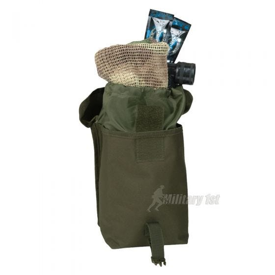 Mil-Tec Utility Pouch Large MOLLE Olive