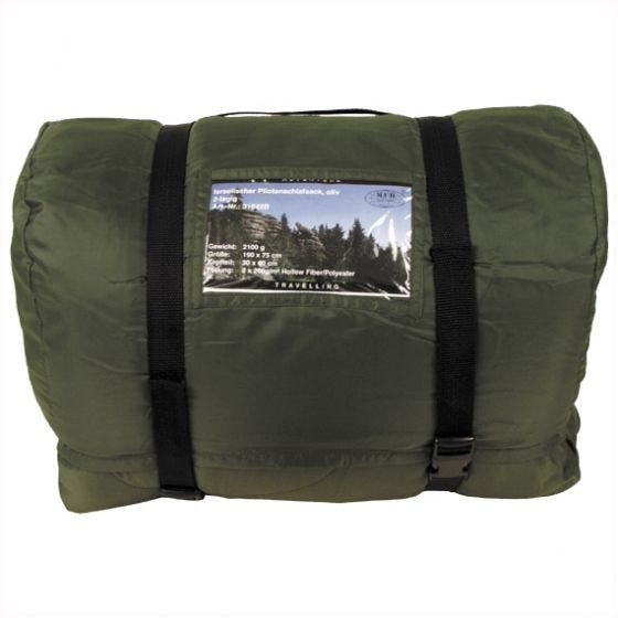 MFH Israeli Pilot's Sleeping Bag Olive