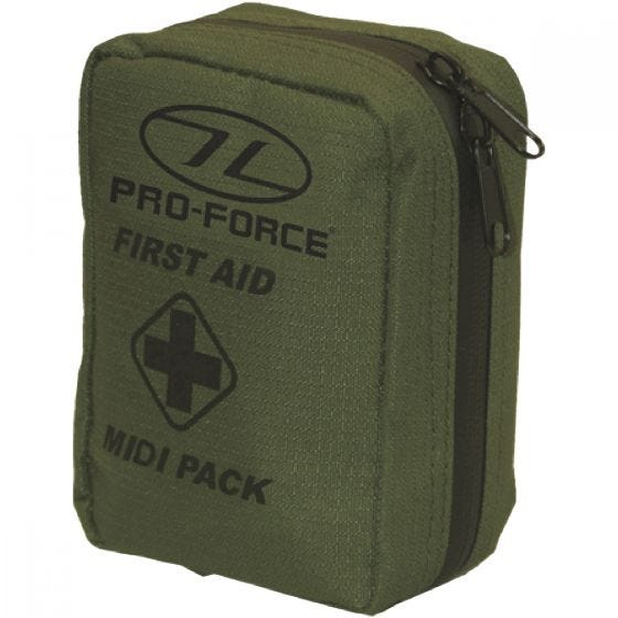 Pro-Force First Aid Midi Pack Olive